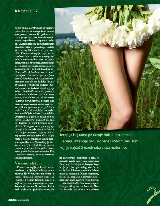 SENSA, Biljke zenskog roda 3