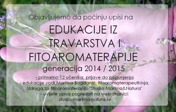 edukacije iz fitoaromaterapije i travarstva