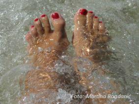 sa vodom noge