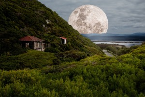 supermoon by Pixabay